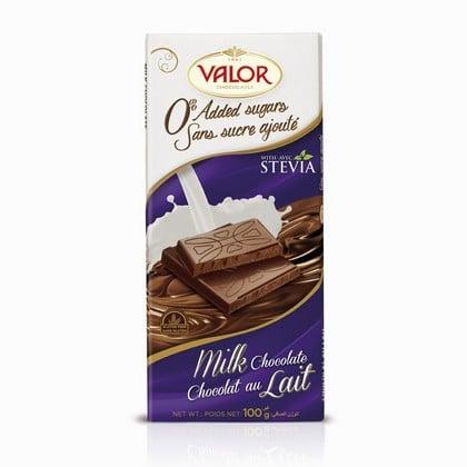 تصویر شکلات شیری والوور