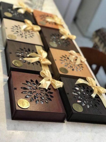 شکلات پذیرایی بدون قند استویا