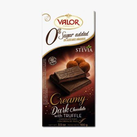 تصویر شکلات بدون شکر و تلخ با موس ترافل