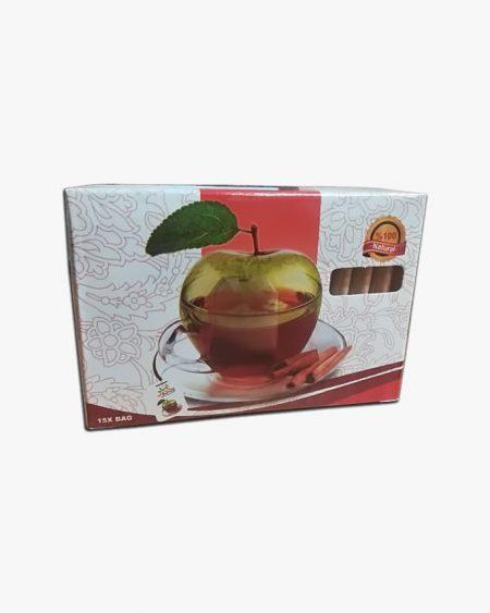 التصویر الشای العشبی للقرفة والتفاح