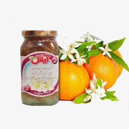 تصویر مربای بدون شکر بهارنارنج شیرین شده با استویا
